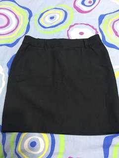 Dark Grey Padini Work Skirt