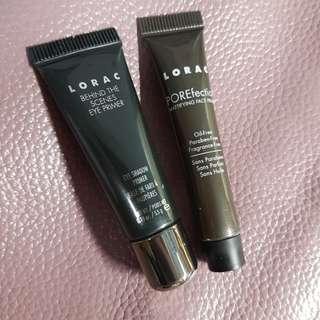 Lorac face primer and eye primer
