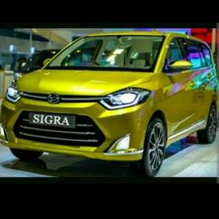peredam suara akustik 4 pintu Daihatsu Sigra