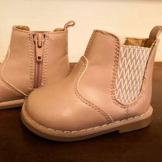 H&M Baby Girl/ Toddler Winter Boots (Pink)