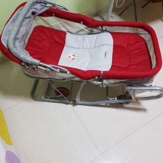 Movable Baby Rocking Bed