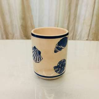 Decor - Laura Ashley's Seashell Toothbrush Holder