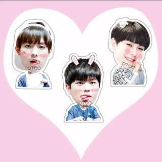 Btob 3 pcs stickers set