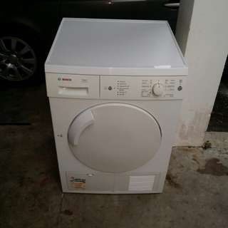 Used Bosch condenser maxx7 dryer pengring 7.0kg in good condition