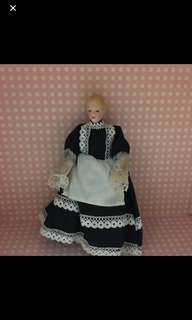 🚚 古董 陶瓷娃娃