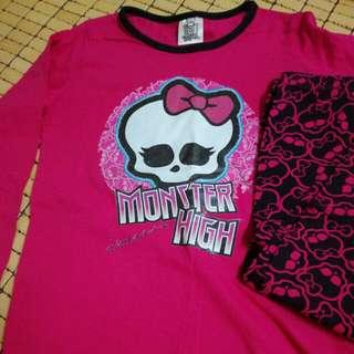 Monster High Pyjama Set