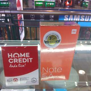 Redmi Note 5A Prime cicilan tanpa kartu kredit