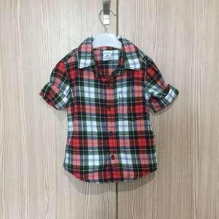 #baby30 Carters Checkered Shirt