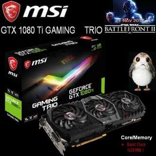 MSI GTX 1080 Ti GAMING TRIO..