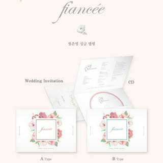 JUNG JOON YOUNG-Fiancee [Single Album]
