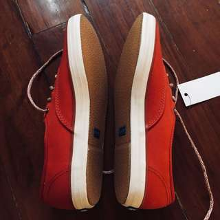 BNEW Keds Ketchup Red Sneakers US7.5