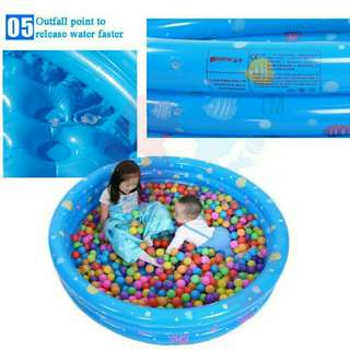 INFLATABLE 3 RINGS SWIMMING POOL