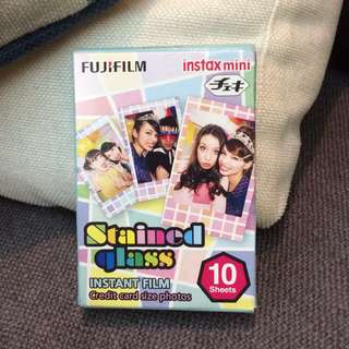 Fujifilm Instax Mini Film Stained Glass Assorted