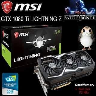 MSI GTX 1080 Ti LIGHTNING Z GeForce..