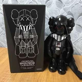 $599 Bearbrick original fake kaws star wars darth vader 黑武士 星球大戰