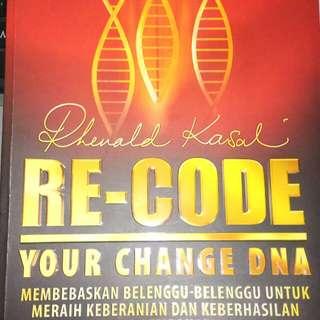 (FREE ONGKIR JABODETABEK) Re-code Your Change DNA by Rhenald Kasali