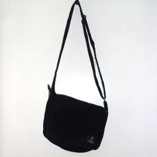Charity Sale! Free Shipping Imagine Black Over the Shoulder Suede Bag