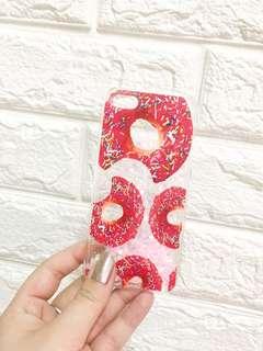 Iphone 5/s/se case - Doughnut Liquid glitter