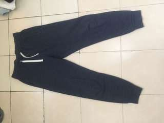 H&M navy jogger sweatpants