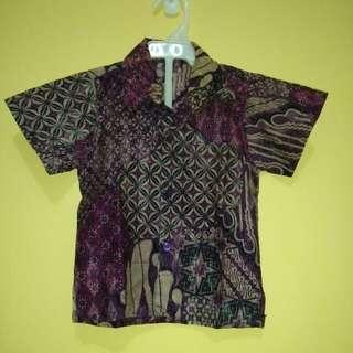 Batik Ungu Classic