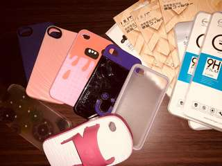 iPhone 4 cases, tempered glass and screen protector