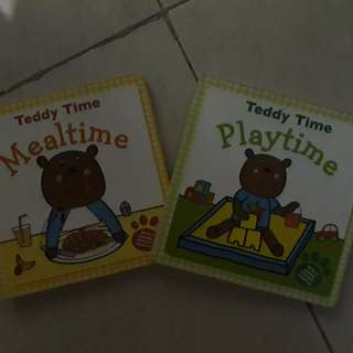 Good condition hard cover Teddy Time storybooks