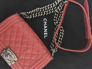 Boy Chanel (Size 20cm) 80% new