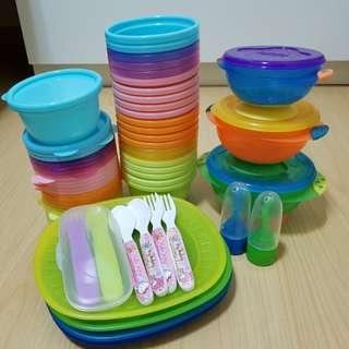 Munchkin Feeding Bowls & Food Pouch Spoons