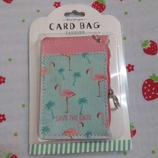 全新 卡片套 散紙包 卡包 Flamingo 火烈鳥