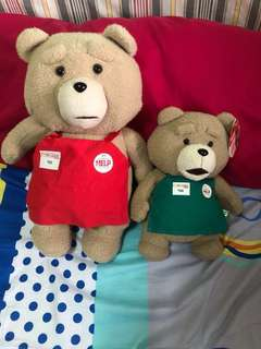 Ted plush and stuffed toys