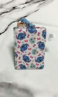 🚚 迪士尼「星際寶貝」史迪奇&醜丫頭 行李吊牌 票卡夾