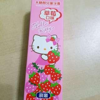 Hello Kitty Toothpaste.