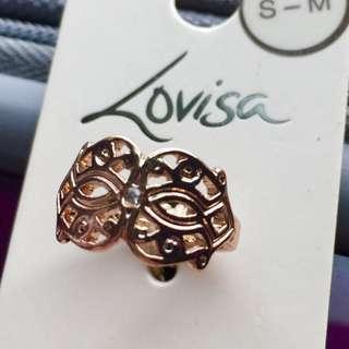 Lovisa Rose Gold Statement Ring