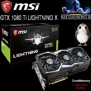 MSI GTX 1080 Ti LIGHTNING X GeForce.