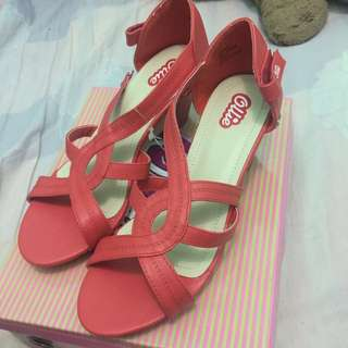 Ollie Red Sandal