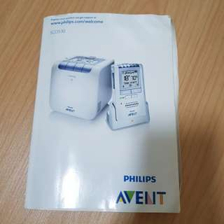 Philips Avent Dect Baby Monitor SCD530