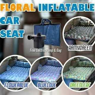 ✨New Floral Inflatable Car Bed✨