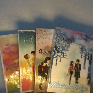 Novel Preloved. 4 Seasons Series Lengkap by Ilana Tan