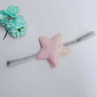 Baby Girl/Toddler Glitter Star Headband