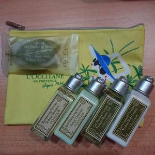 Loccitane Verveine Verbena Travel Set