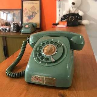 🚚 「早期轉盤電話 」  早期 古董 復古 懷舊 稀少 有緣 大同寶寶 黑松 沙士 鐵件 40年 50年