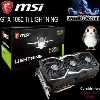 MSI GTX 1080 Ti LIGHTNING GeForce..