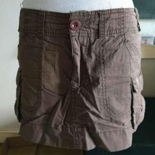 A&F Denim mini skirt