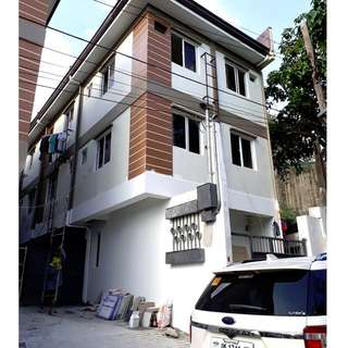For Sale Brand New 3 Storey Townhouse in F.Roxas St. San Juan City