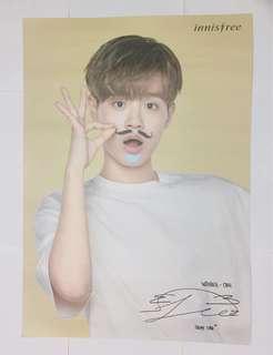 WANNA ONE innis free poster 李大輝 Lee Dae Hwi