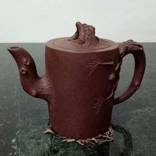 Zisha Teapot 松树紫砂壶