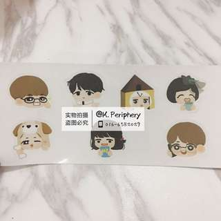 BTS Fanart Sticker