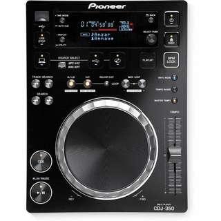 Pioneer CDJ-350 Digital Multi Player, Black