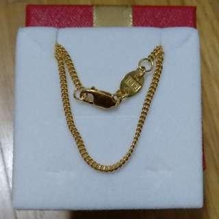 Preloved Poh Heng 916 22K Gold Necklace