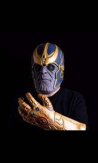 Thanos Mask Infinity Gauntlet